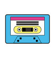 music old cassette vector image vector image