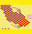national oriental pattern vector image vector image