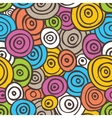 Pop art retro seamless background vector image vector image