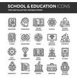 school education university study learning vector image vector image
