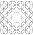 seamless geometric pattern with thin lines vector image