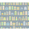 City background Buildings Skyscrapers and public vector image