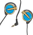 earphones vector image