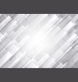 abstract white and gray color geometric vector image vector image