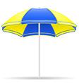 beach parasol 02 vector image vector image