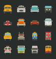 Car icons transport vector image vector image