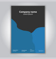 company poster template vector image