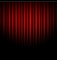 curtain abstract of red background vector image vector image
