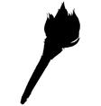 flambeau vector image vector image