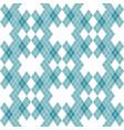 mint blue green tartan vintage background vector image vector image