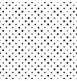 seamless circle pattern background - monochrome vector image vector image