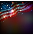 Abstract background for 4th of July vector image vector image