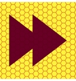multimedia control Flat modern web button and vector image