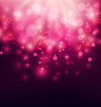 Purple Abstract Backdrop Bokeh Background vector image vector image