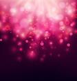 purple abstract backdrop bokeh background vector image vector image