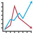 line diagram flat vector image