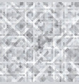 abstract gray background of squares vector image vector image