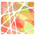 abstract network frame with abstract background vector image