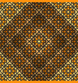 asian geometric background vector image vector image
