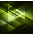 Elegant Geometric Green Background vector image vector image