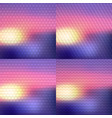 set of four blurry background vector image vector image