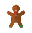 Chritmas cookie vector image