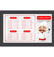 002 Chinese chef cartoon smile with happiness with vector image