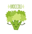 A cartoon broccoli