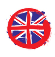 England circle flag vector | Price: 1 Credit (USD $1)