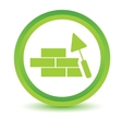Green Building icon vector image