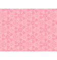 hearts background for love vector image vector image