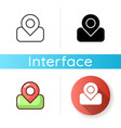 maps app icon vector image