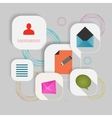 Set of information icons eps vector image