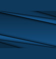 abstract dark blue background diagonal lines vector image
