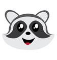 avatar of raccoon vector image vector image