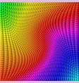 colorful gradient illusion abstract background vector image vector image