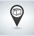 delivery services relocation cargo shipment or vector image