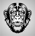 Monkey Face vector image vector image