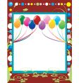 party template background vector image