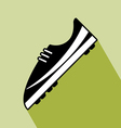 Shoes Football Icon vector image vector image
