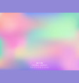 abstract of colorful gradient background vector image vector image