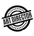 Art Director rubber stamp vector image vector image