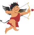 Bad Cupid vector image vector image