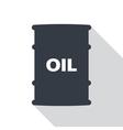Barrel of oil vector image vector image
