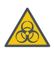 Biohazard symbol vector image