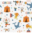 Fun circus pattern vector image