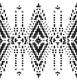 hand drawn tribal seamless border vector image vector image