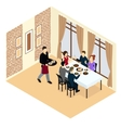 Isometric Holiday Concept vector image vector image