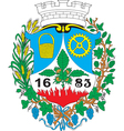 Liesing District Coat-of-Arms vector image vector image