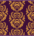 seamless textile pattern vector image vector image